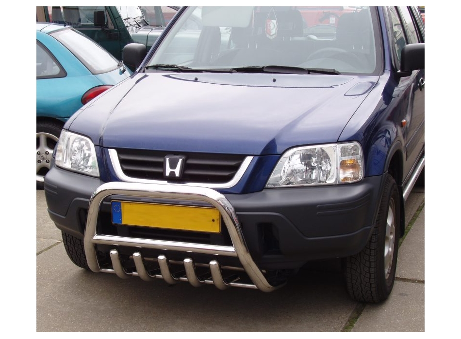 Honda Cr V Mk1 Front Bull Bar With Bottom Grille Fgbm01