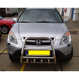 HONDA CR-V Mk2 Front High Bull-Bar With Lower Grille FGBH01