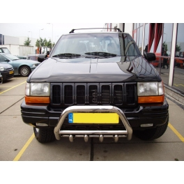 JEEP Cherokee ZJ 93-98 Front Bull-Bar With Bottom Grille FGBM01
