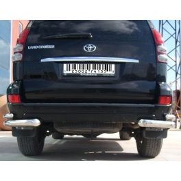 TOYOTA Land Cruiser 120 Rear Protection Double Bars RCB02