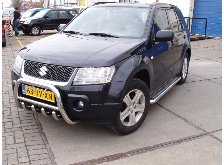 Suzuki Grand Vitara Mk3 Front Bull Bar With Bottom Grille