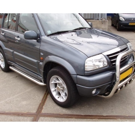 SUZUKI Grand Vitara Mk2 S.Steel Running Boards SSC02