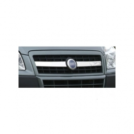 FIAT Doblo Mk1  Grill Cover 2 Pieces Chrome S. Steel 304