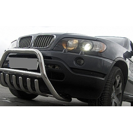 BMW X5 E53 Front Bull-Bar With Bottom Grille FGBM01