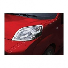 FIAT Fiorino Mk3  Headlights  Surrounds Trims Chrome S. Steel 304