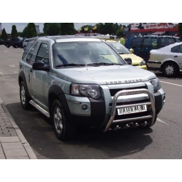 LAND ROVER Freelander Mk1 Front High Bull-Bar With Lower Grille FGBH01