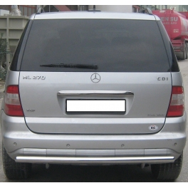 MERCEDES ML W163 Rear Protection Bar RBG01