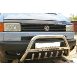VOLKSWAGEN Transporter T4 Front Bull-Bar With Bottom Grille and Logo FGBM02