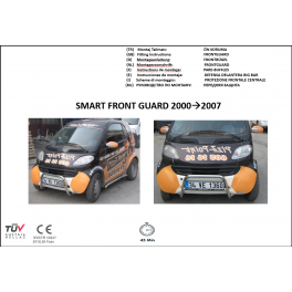 SMART MK1 Front A-Bar FBBM01