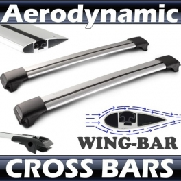 Renault Clio Mk3 Estate Roof Rack Cross Bars Set
