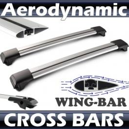 Skoda Roomster Roof Rack Cross Bars Set