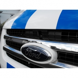 FORD Transit Mk7  Grill Cover 2 Pieces Chrome S. Steel 304