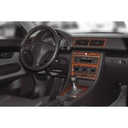 Audi A4 8E Dash Trim Kit 3M 3D 11-Parts