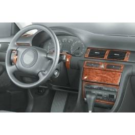 Audi A6 C5 Manual Transm. Dash Trim Kit 3M 3D 14-Parts