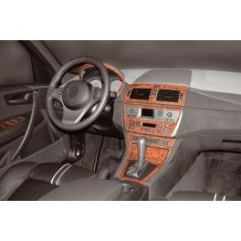 BMW X3 E83 Dash Trim Kit 3M 3D 12-Parts