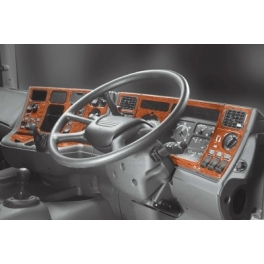 RHD Scania 4-Series  Dash Trim Kit 3M 3D 50-Parts