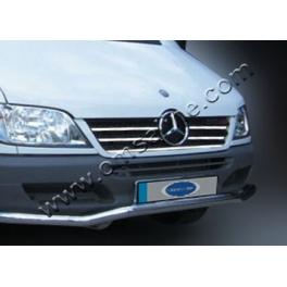 MERCEDES Sprinter Mk1 W901/903  Grill Cover 12 Pieces Chrome S. Steel 304