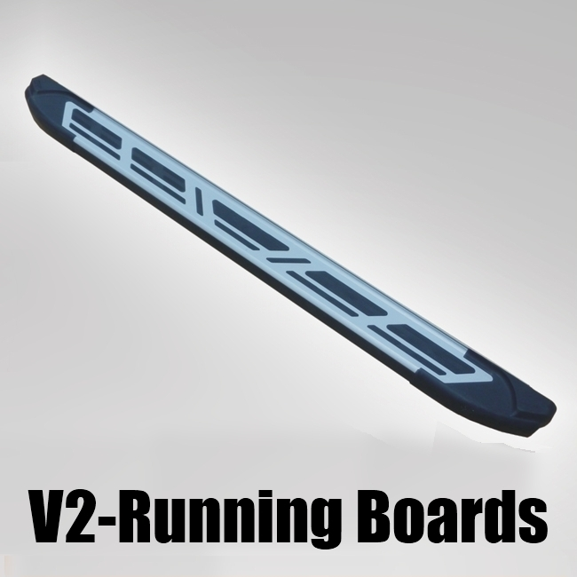 V2 Style Running Boards Modern Style