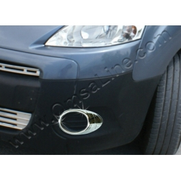 CITROEN Berlingo Mk2  Fog Spot Lights   Surrounds Trims Chrome S. Steel 304